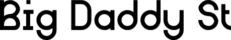 Preview image for Big Daddy St Font