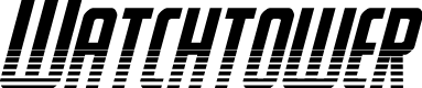 Preview image for Watchtower Halftone Italic