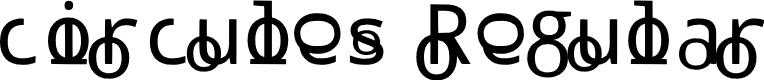 Preview image for circules Regular Font