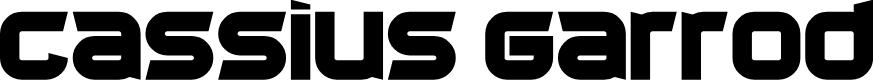 Preview image for Cassius Garrod Font