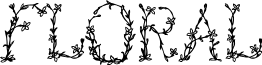 FloralOne font
