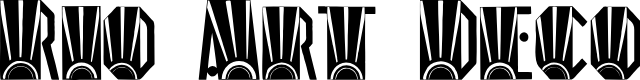 Preview image for Rio Art Deco Font