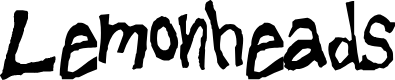 Preview image for Lemonheads Font