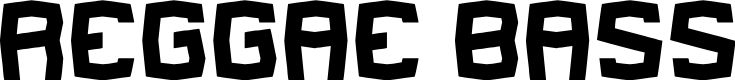 Preview image for REGGAE BASS Font