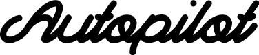 Preview image for Autopilot Font