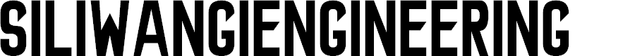 Preview image for SiliwangiEngineering Font