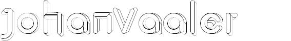 Preview image for JohanVaaler Font
