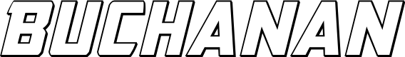 Preview image for Buchanan Outline Italic