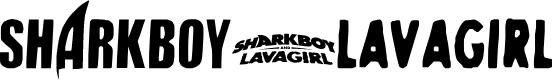 Preview image for SHARKBOY & lavagirl Font