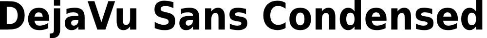 Preview image for DejaVu Sans Condensed Bold