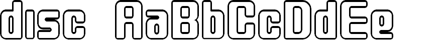 Preview image for disc Font