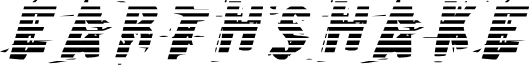 Earthshake Gradient Italic