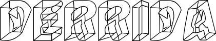 Preview image for Derrida Font