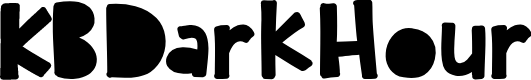 Preview image for KBDarkHour Font