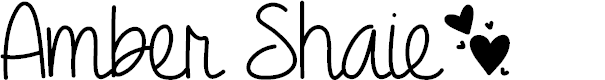 Preview image for Amber Shaie Font