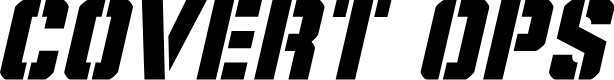 Preview image for Covert Ops Italic