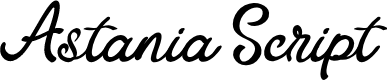 Preview image for Astania Script Font