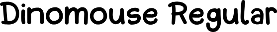 Dinomouse-Regular