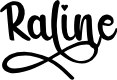 Preview image for Raline Font