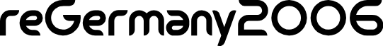 reGermany2006 font