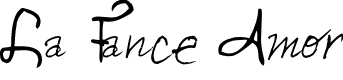 Preview image for La Fance Amor Font