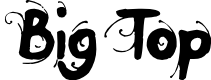 Preview image for Big Top Font