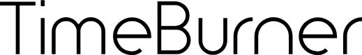 Preview image for TimeBurner Font