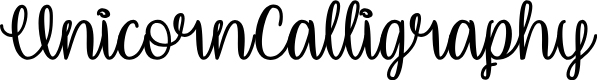 Preview image for UnicornCalligraphy