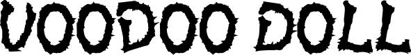 Preview image for VoodooDollLetters Font