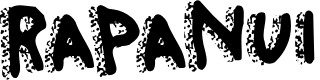 Preview image for RapaNuiLetters Font