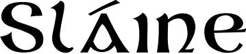 Preview image for Sláine Font