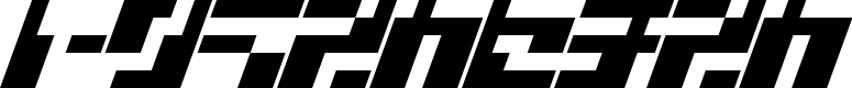 Preview image for ShortPart Font