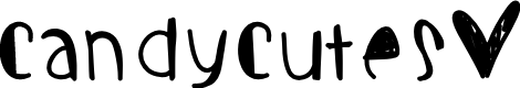 Preview image for Candycutes Font