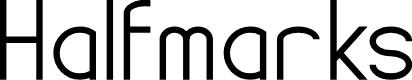 Preview image for Halfmarks Font