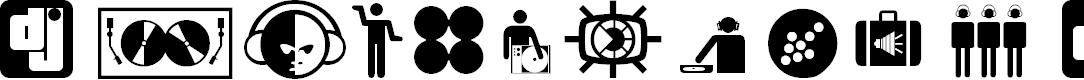 Preview image for Superstar DJ Font