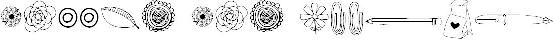 Preview image for MAGGIE MAE Doodles Regular Font