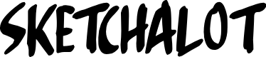 Preview image for Sketchalot Font