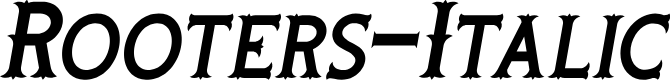 Preview image for Rooters-Italic