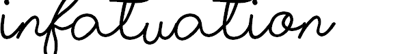 Preview image for Infatuation Font