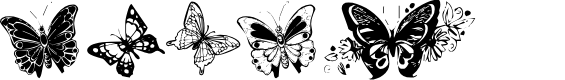 Preview image for Destiny's Butterfly Dingbats