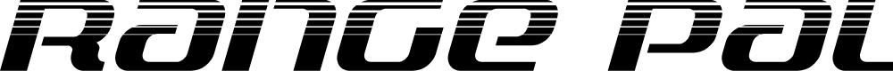 Preview image for Range Paladin Halftone Italic