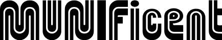 Preview image for MUNIficent Font