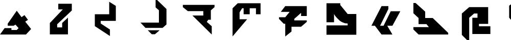 Preview image for AVIAN/MYRMICAT numerals Font