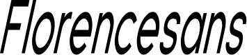 Preview image for Florencesans Comp Italic