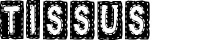 Preview image for CF Tissus Regular Font