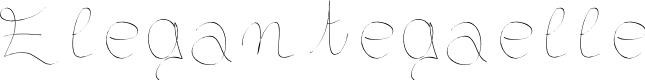 Preview image for Elegantegaelle Font