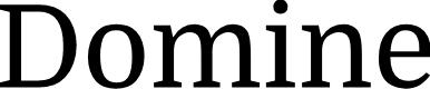 Preview image for Domine Font