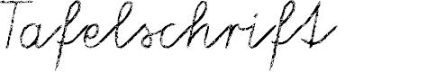Preview image for Tafelschrift Font