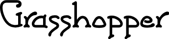 Preview image for Grasshopper Font
