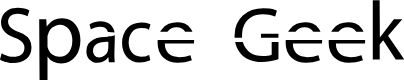 Preview image for Space Geek Font